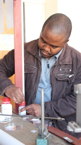 Bongani Thabete's research on nanowires could be used to build better gas detectors.